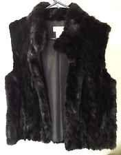 Beautiful Authentic Vintage Mink Pologeorgis Womans Vest Size Medium
