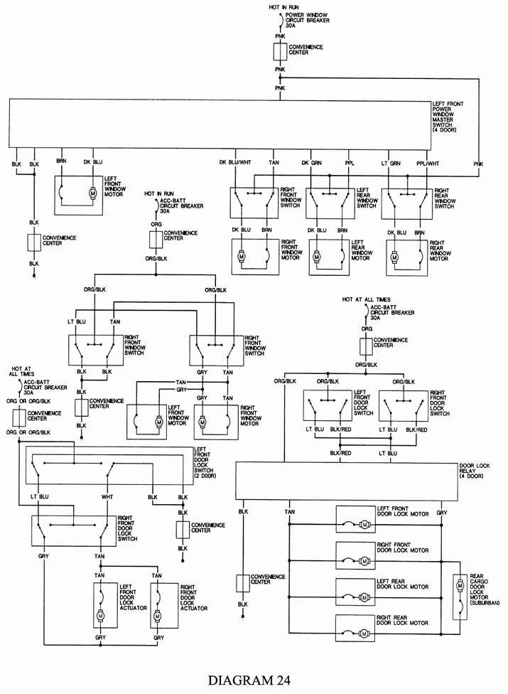7 terminal ignition switch wiring diagram  schaltplan jeep