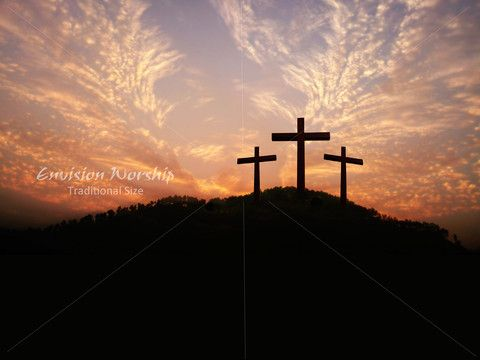 Celebrating each day of our lives Christ is Risen - Shout Hosanna - religious powerpoint template