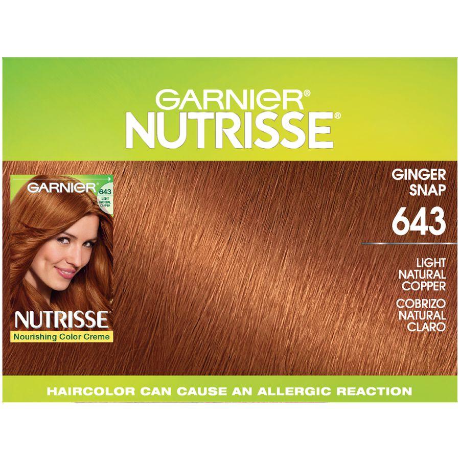 Garnier Nutrisse Nourishing Hair Color Creme Reds 643 Light