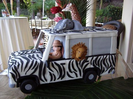 Best Safari Jeep Cake Animal Birthday Cakes Jeep Cake 640 x 480