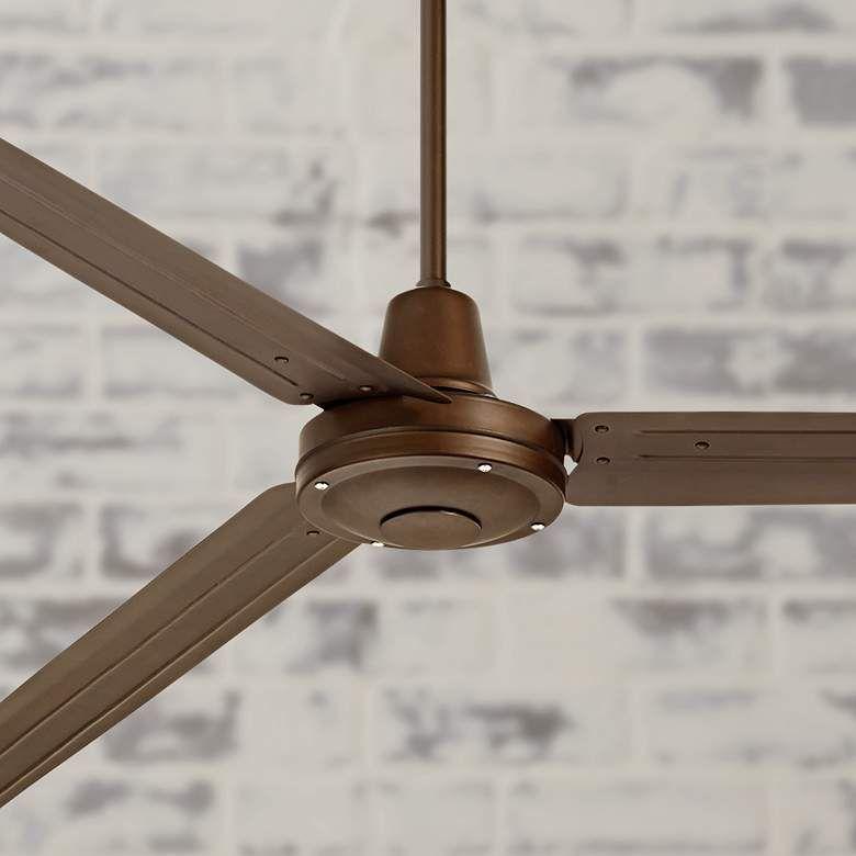 72 Turbina Xl Oil Rubbed Bronze Ceiling Fan 9t628 Lamps Plus