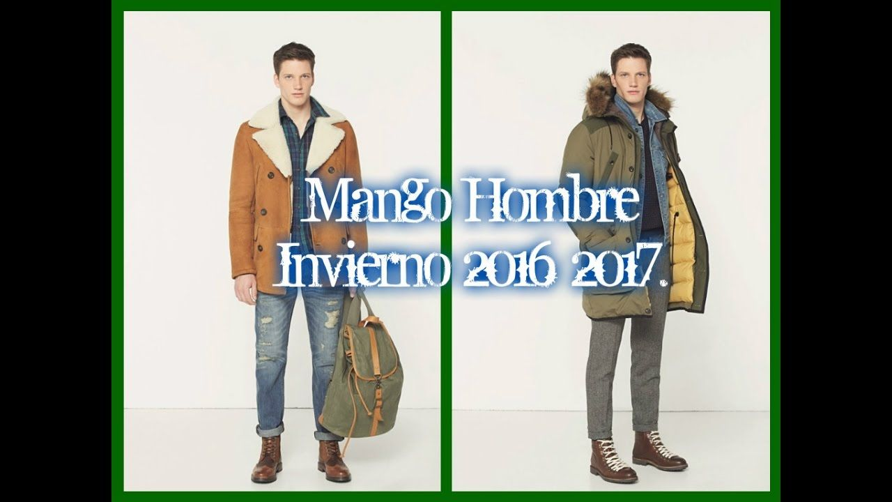 Mango Hombre Otoño Invierno 2016 2017