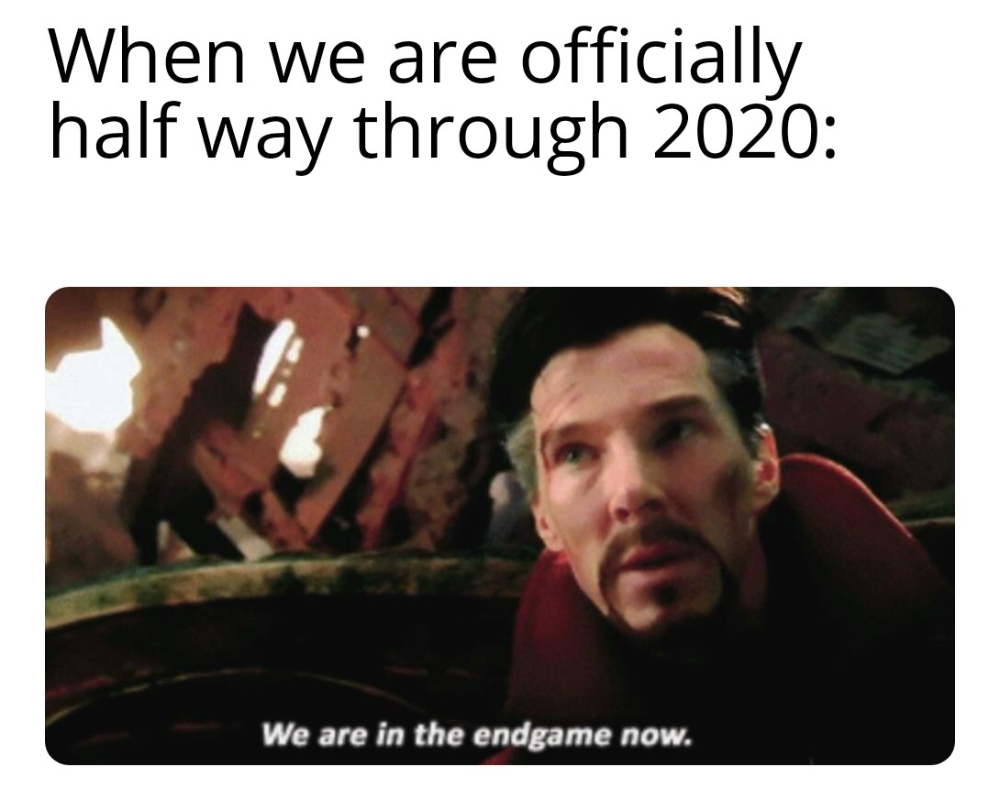 June 2020 Memes Mean We Re Almost Halfway Through 2020 30 Memes In 2020 Memes Mean Memes Funny