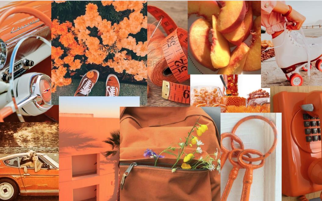 orange macbook screensaver in 2020 Desktop wallpaper art