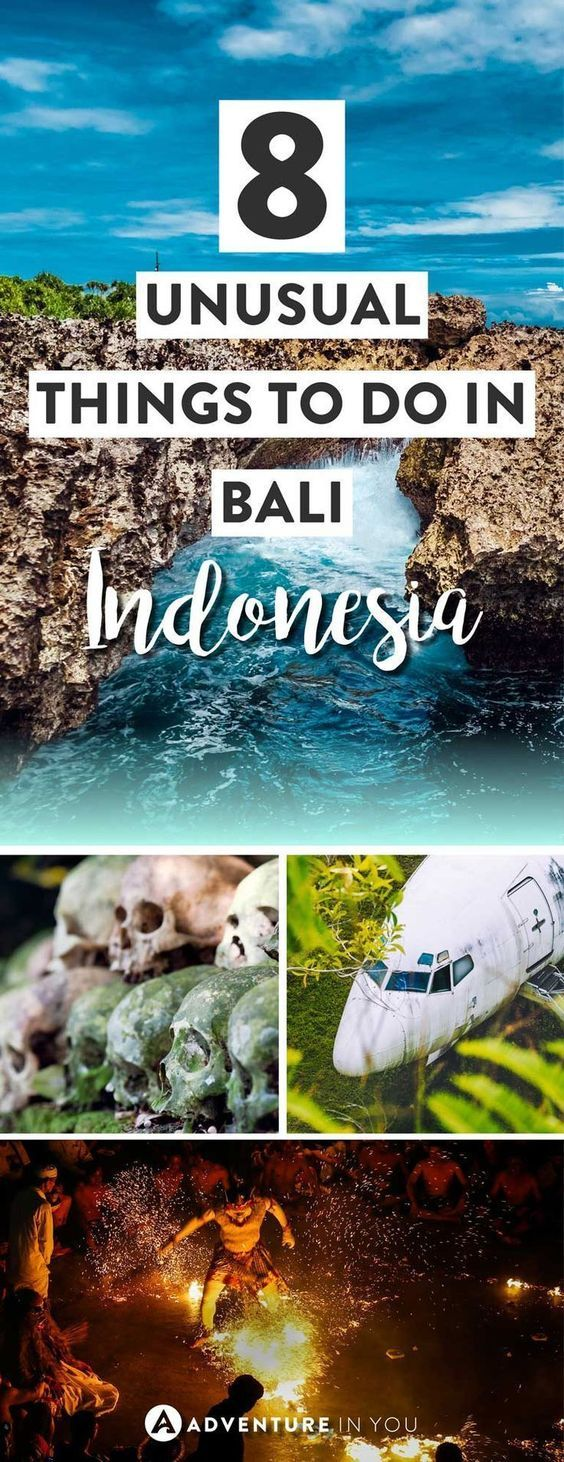 Bali Indonesia   Heading to Bali? Go off the beaten path by adding these unusual things to do in Bali to your trip itinerary. From mesmerising fire shows to underwater temples, these things to do to bali article is the perfect guide to planning your trip to Bali Indonesia #bali #BaliDestination