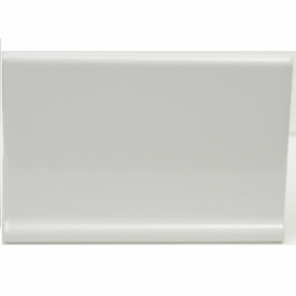 Us ceramic tile color collection snow white 4 in x 6 in ceramic us ceramic tile color collection snow white 4 in x 6 in ceramic cove base dailygadgetfo Choice Image