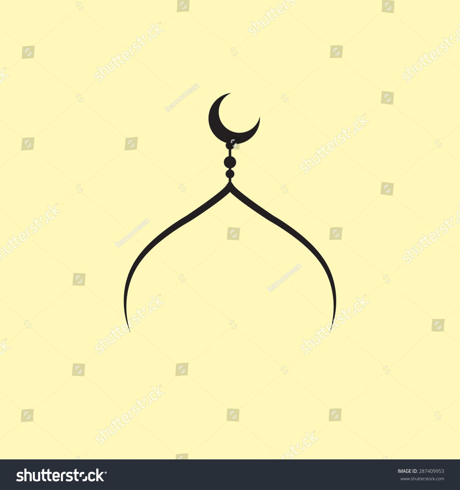 Logo Kubah Masjid Vector 41243 Desain Desain Logo