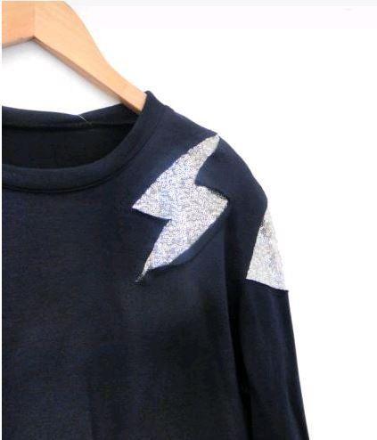Les Jumelles - Shop now - NIEUW - NIEUW - Star Sweater Navy Blue