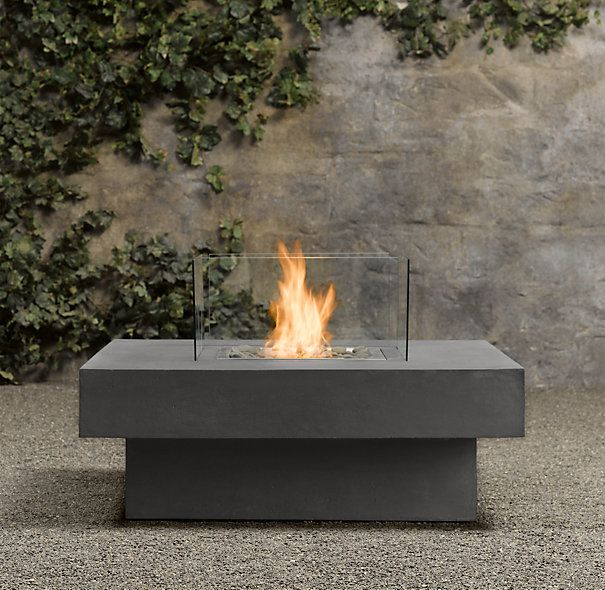 High Quality Laguna Concrete Natural Gas FireTable™   Square