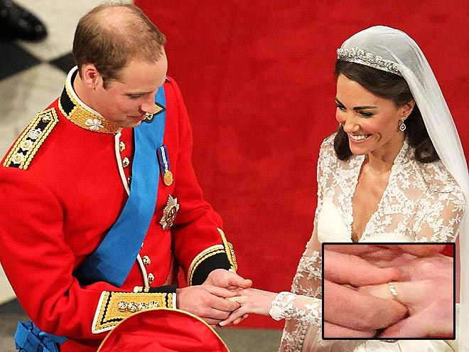 Très The amazing pieces of the newlywed's Kate Middleton wedding Ring  RN72