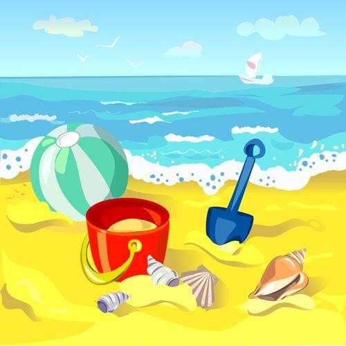 24 Best beach cartoon ideas | beach cartoon, beach, beach background