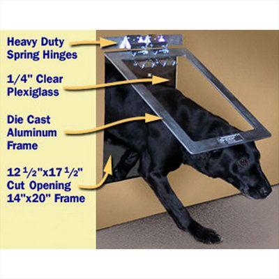 Heavy Duty Dog Door Completed ♥