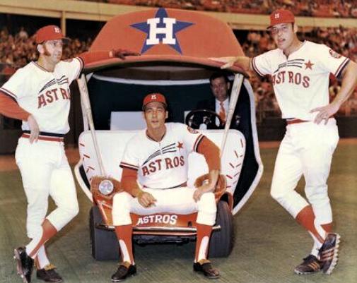 Baseball S Best Bullpen Carts Through The Years March 6 2018 Houston Astros 1970 S Houston Astros Baseball Astros Baseball Pittsburgh Pirates Baseball