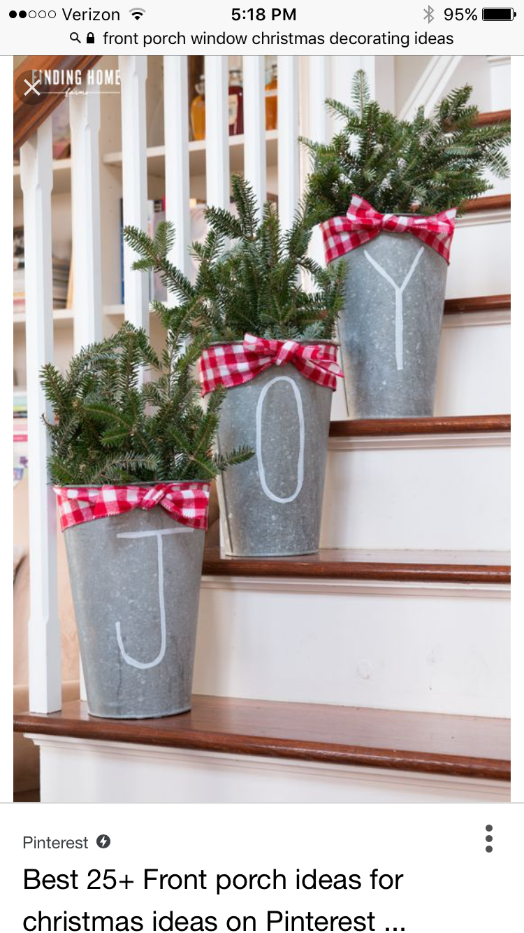 Pin By Tina Chesley On Christmas Front Porch Christmas Decorations Outdoor Christmas Decorations Christmas Diy