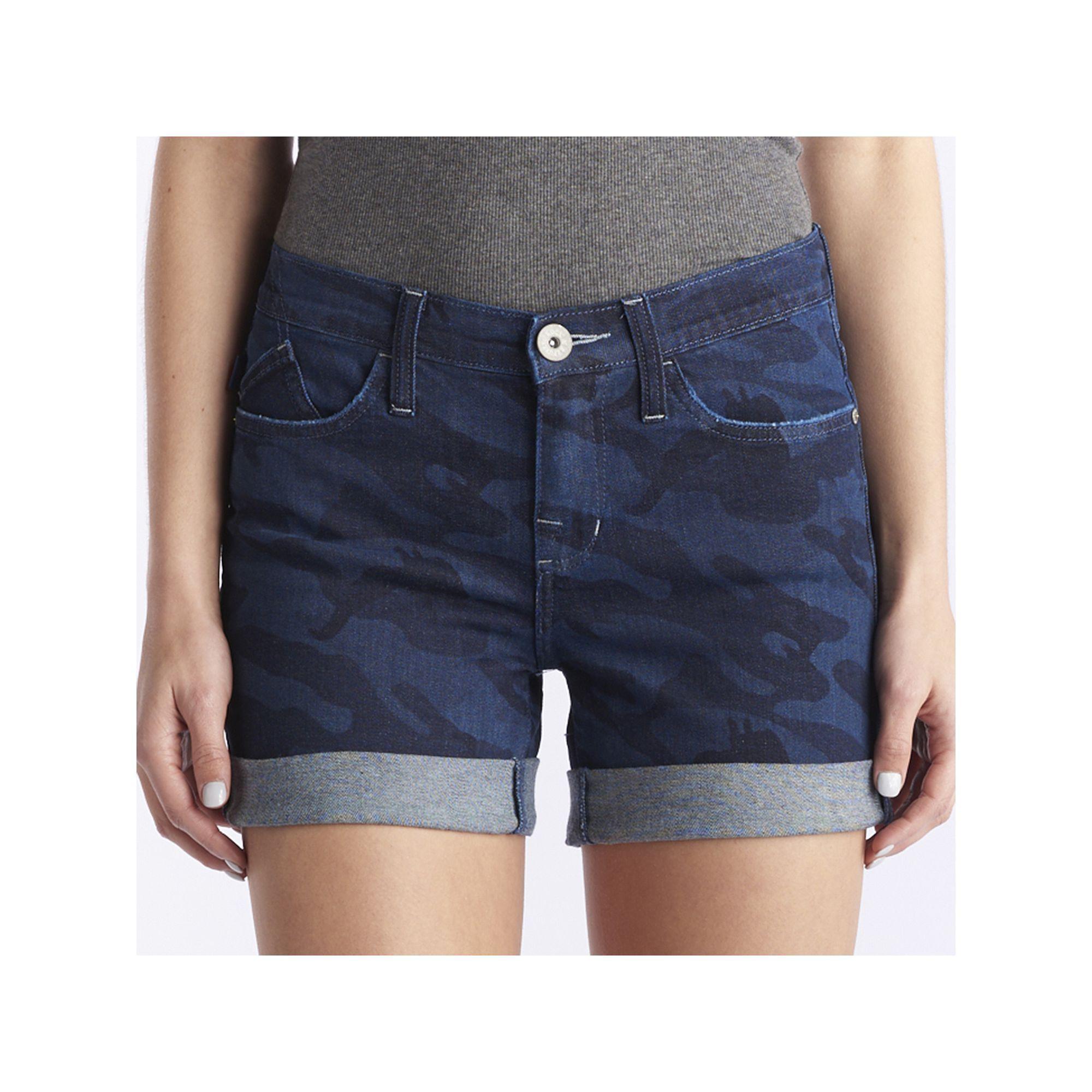 Women's Rock & Republic® Bumpershoot Camo Jean Shorts, Size: 16 ...