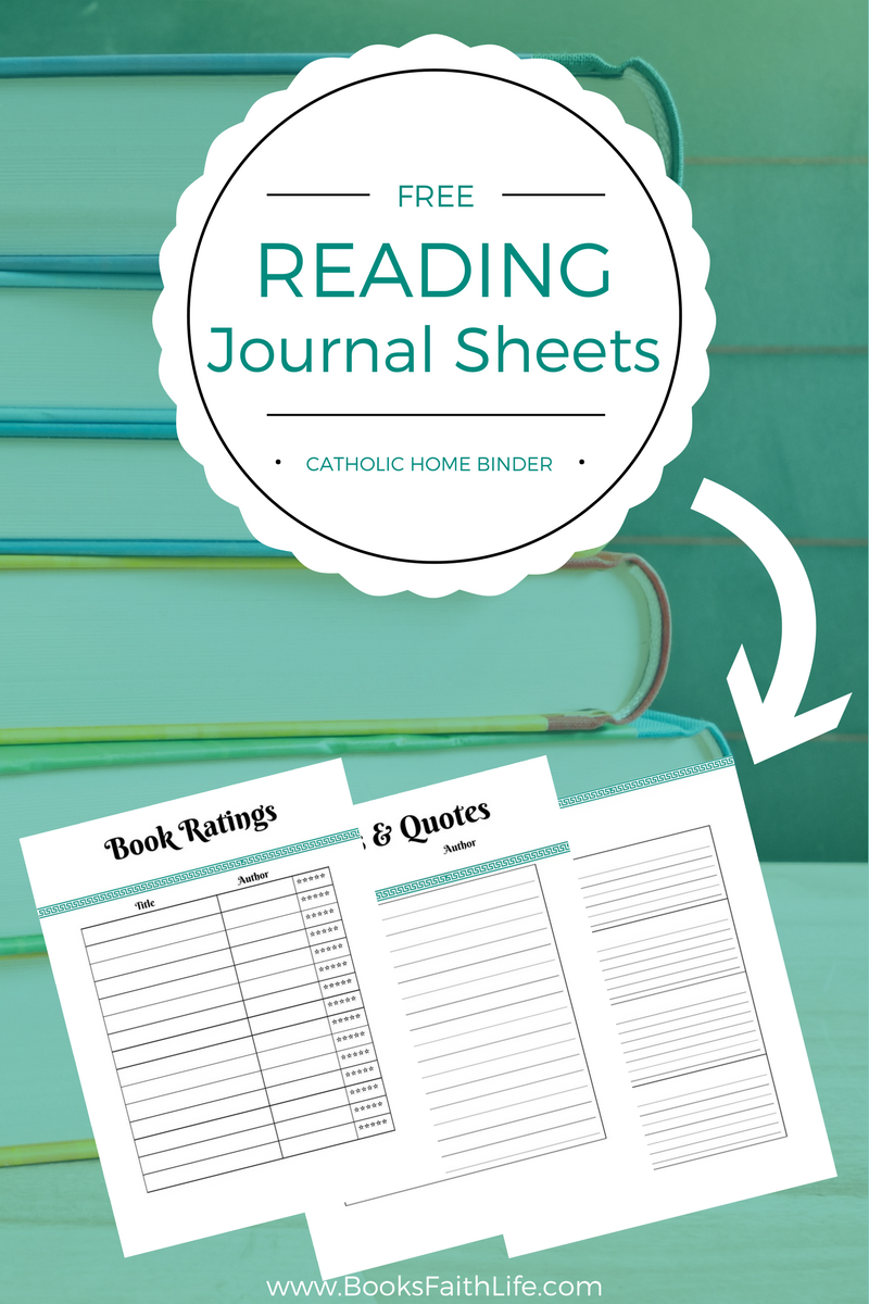 photograph relating to Reading Journal Printable called Reading through magazine templates, printable magazine sheets, and