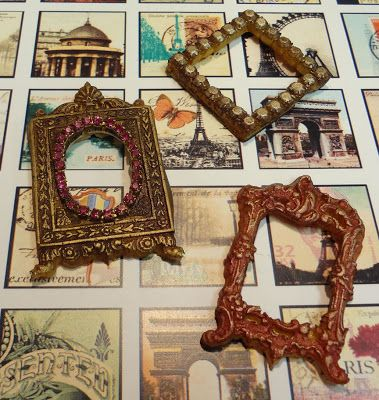 How cool!!! DIY miniature resin frames with tutorial for making your ...