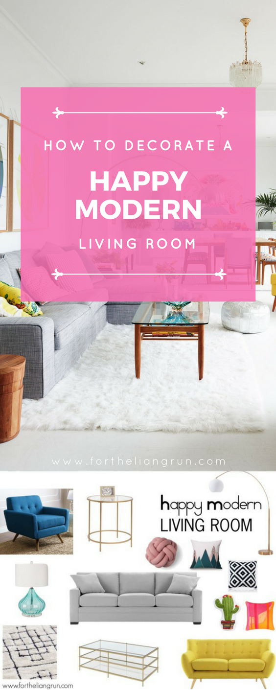 Happy Modern Living Room Decor Ideas | Modern living room decor ...