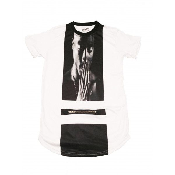 "d8560c70d The Legends  ""Tupac"" Extended Shirt"