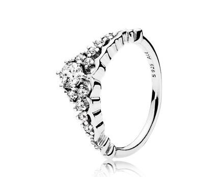 anello pandora con brillante