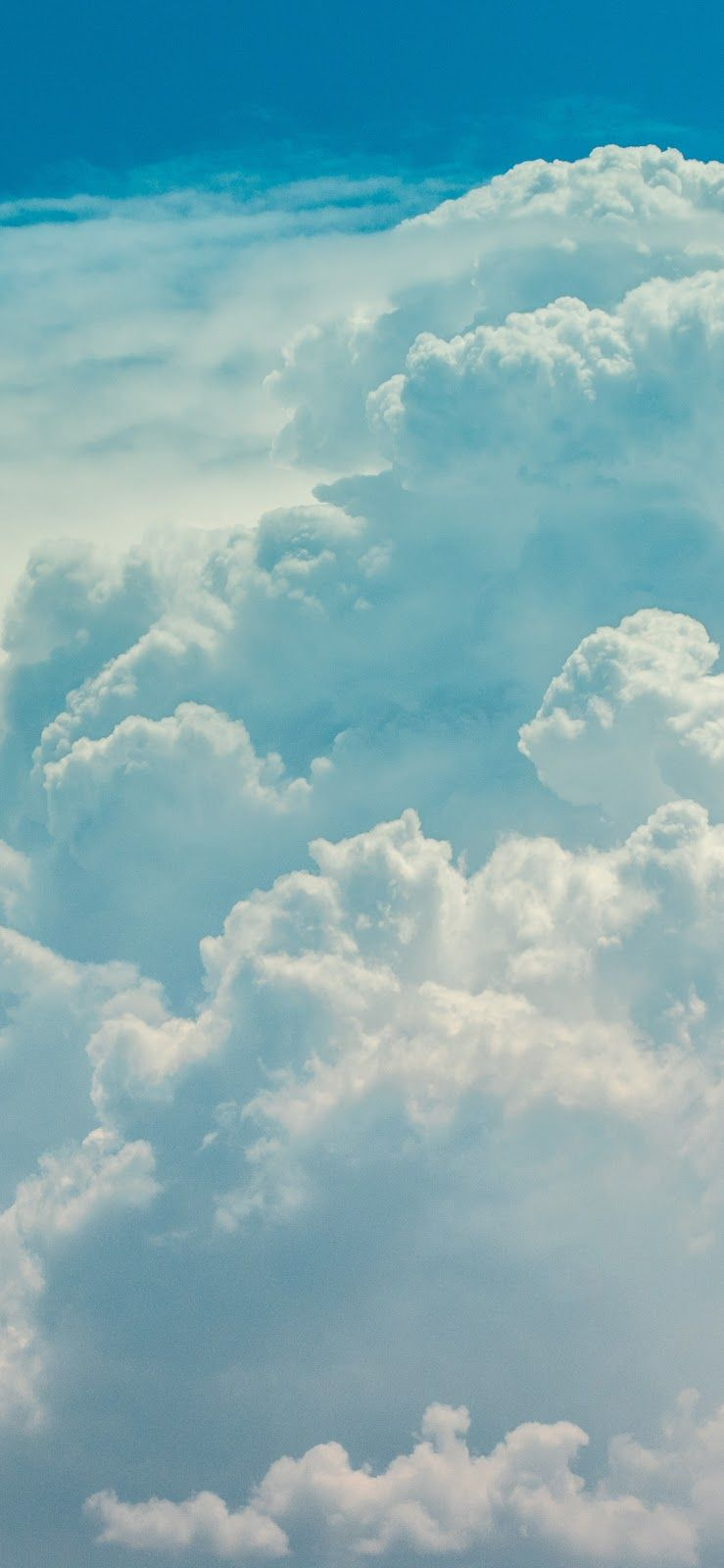 Cloudy sky iPhone X wallpaper iphone android background ...