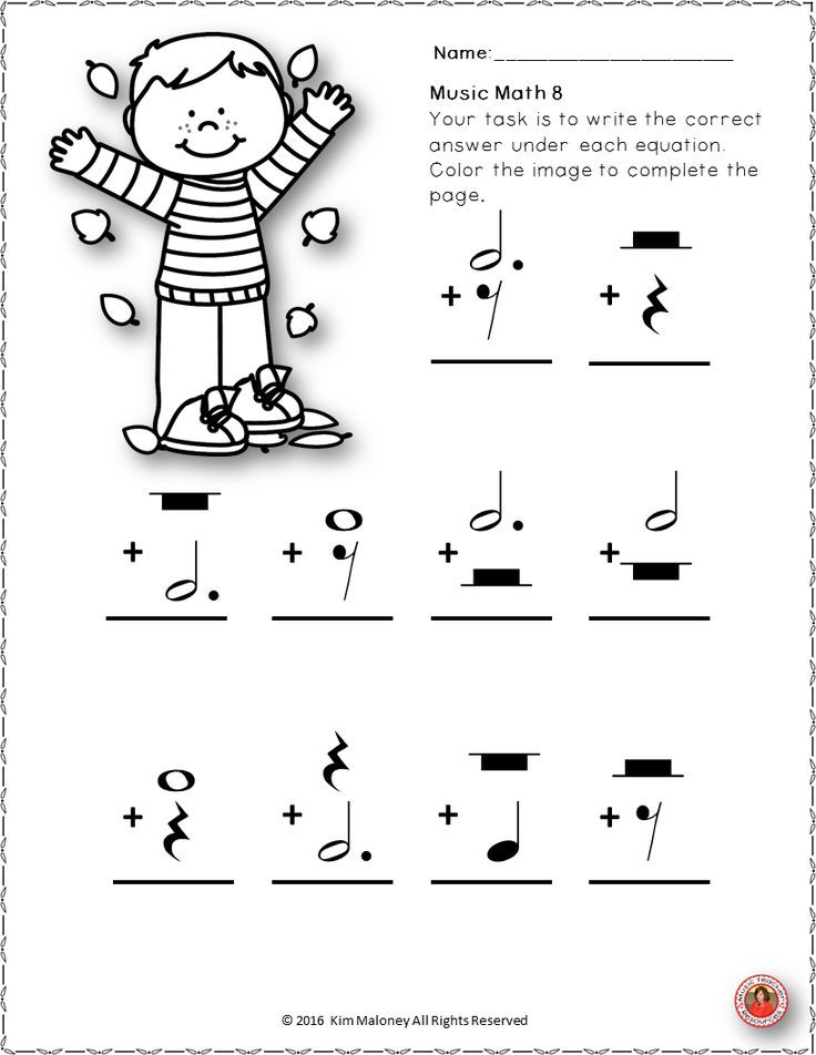Fallautumn Music Worksheets 24 Music Worksheets Aimed At