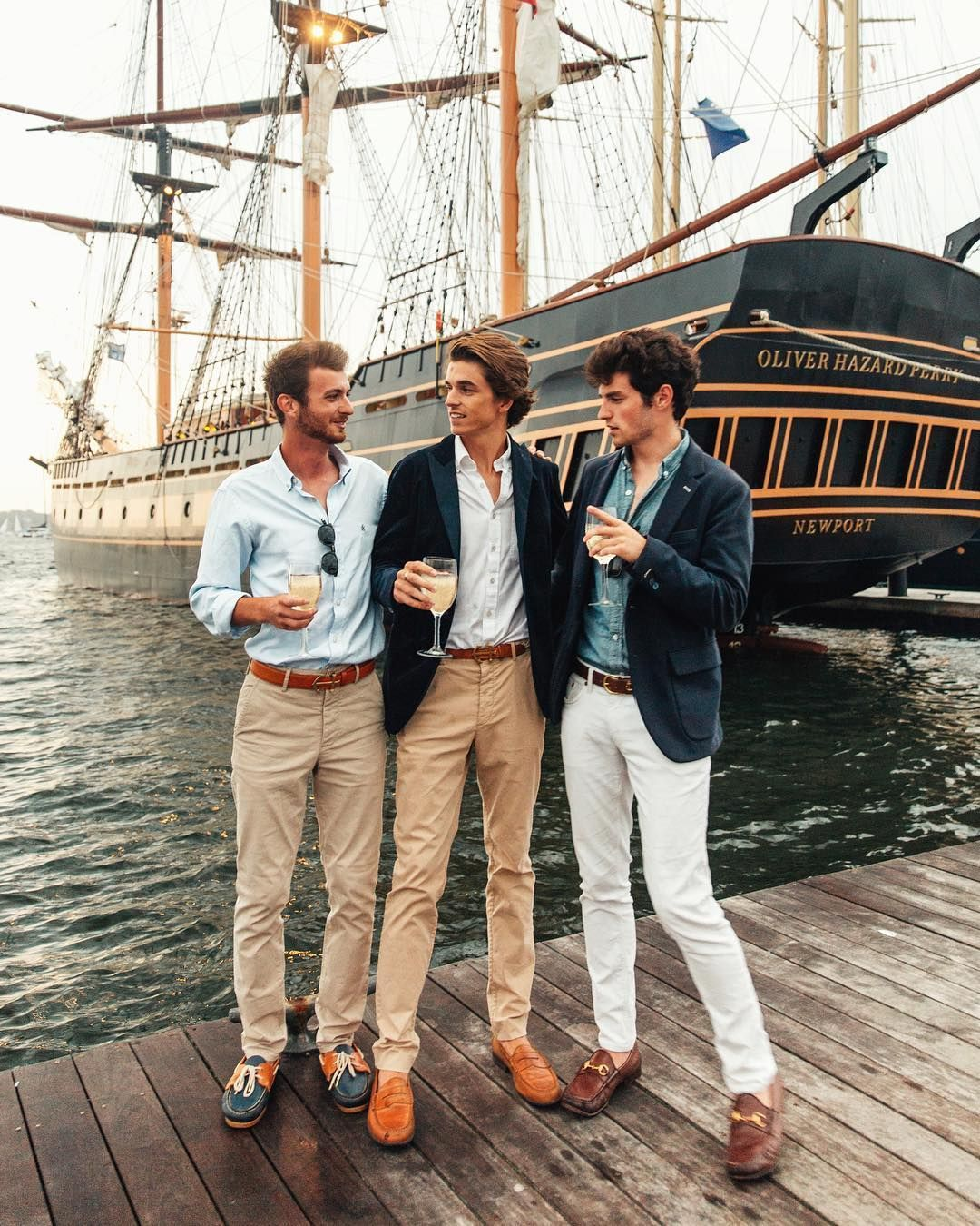 A Field Guide to Preppy Summer Pants #mensfashion
