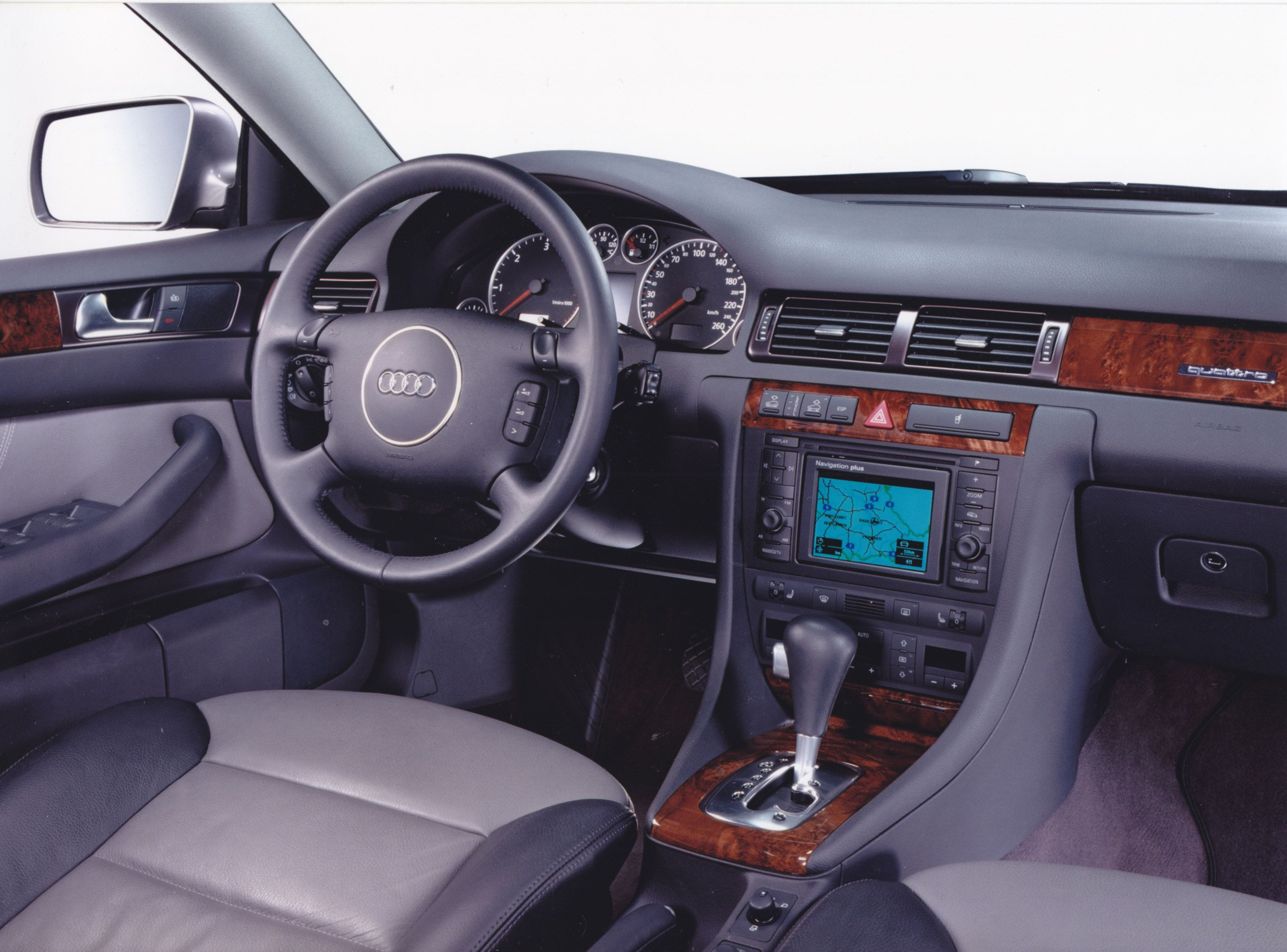 Audi Allroad Quattro 4 2 Dashboard 03 2002 Med Bilder