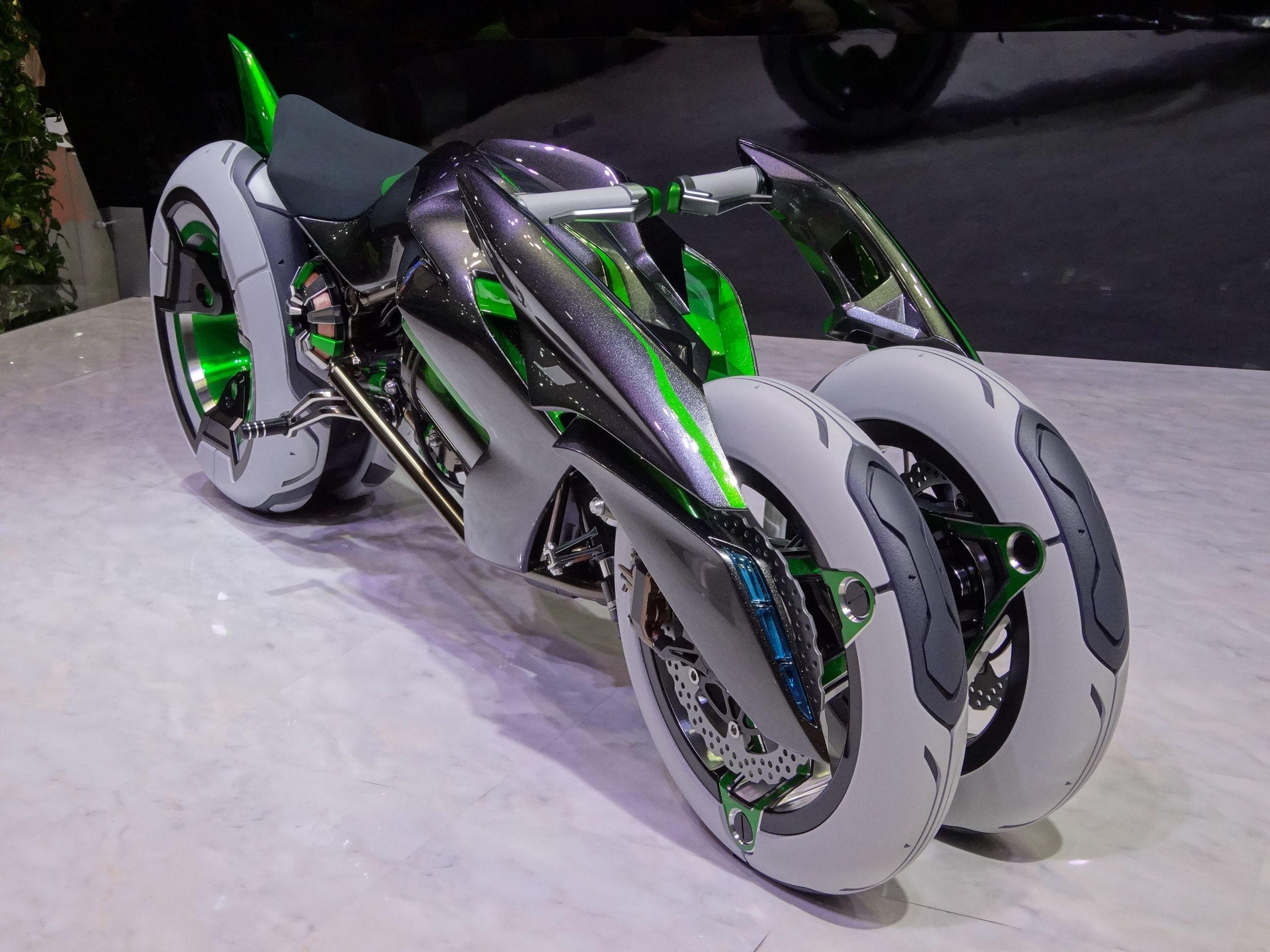 Kawasaki 3 Wheel Motorcycle Year Of Clean Water
