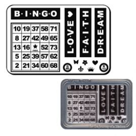 Bingo Card Stamp Set