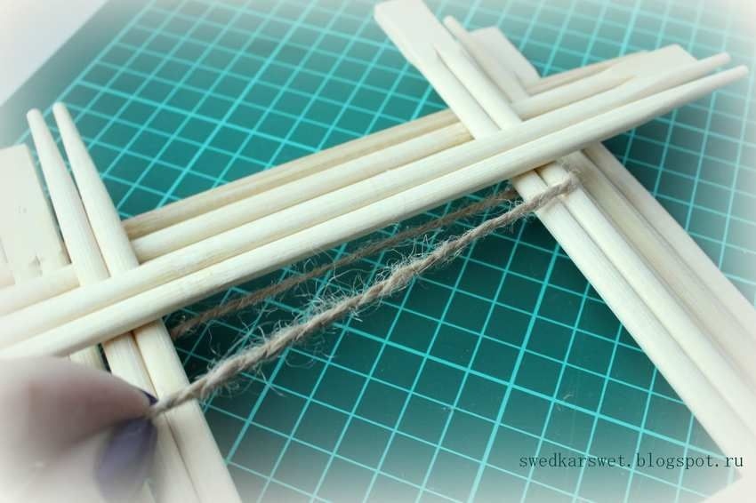 Поделки из китайских палочек фото
