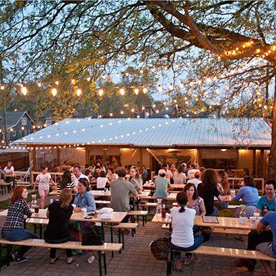 beer garden on pinterest restaurant plan container bar