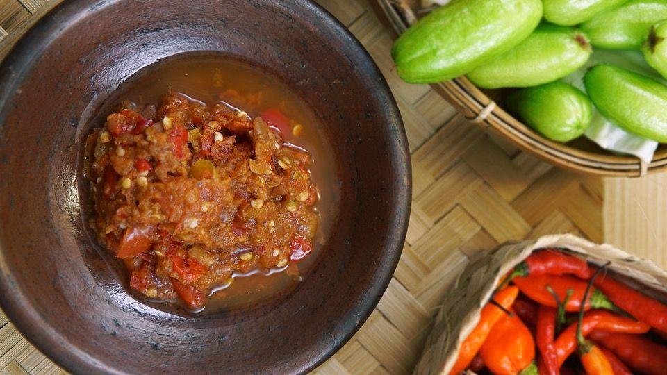 Sambal Tomat Mentah Resep Resep Tomat Resep Makanan