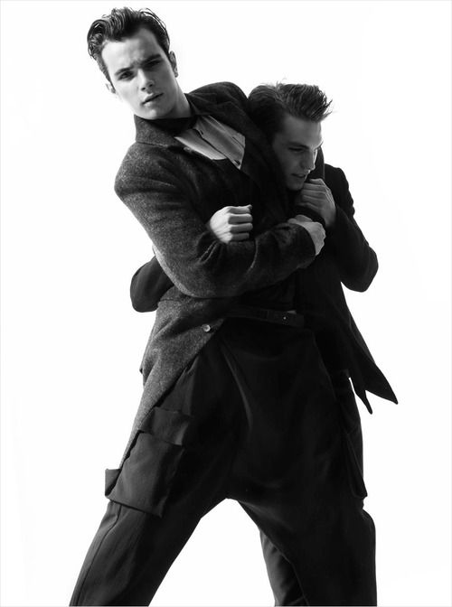 Adam K. & Thomas Gaeta by Maria Ziegelböck for Ute Ploier Fall Winter 2013