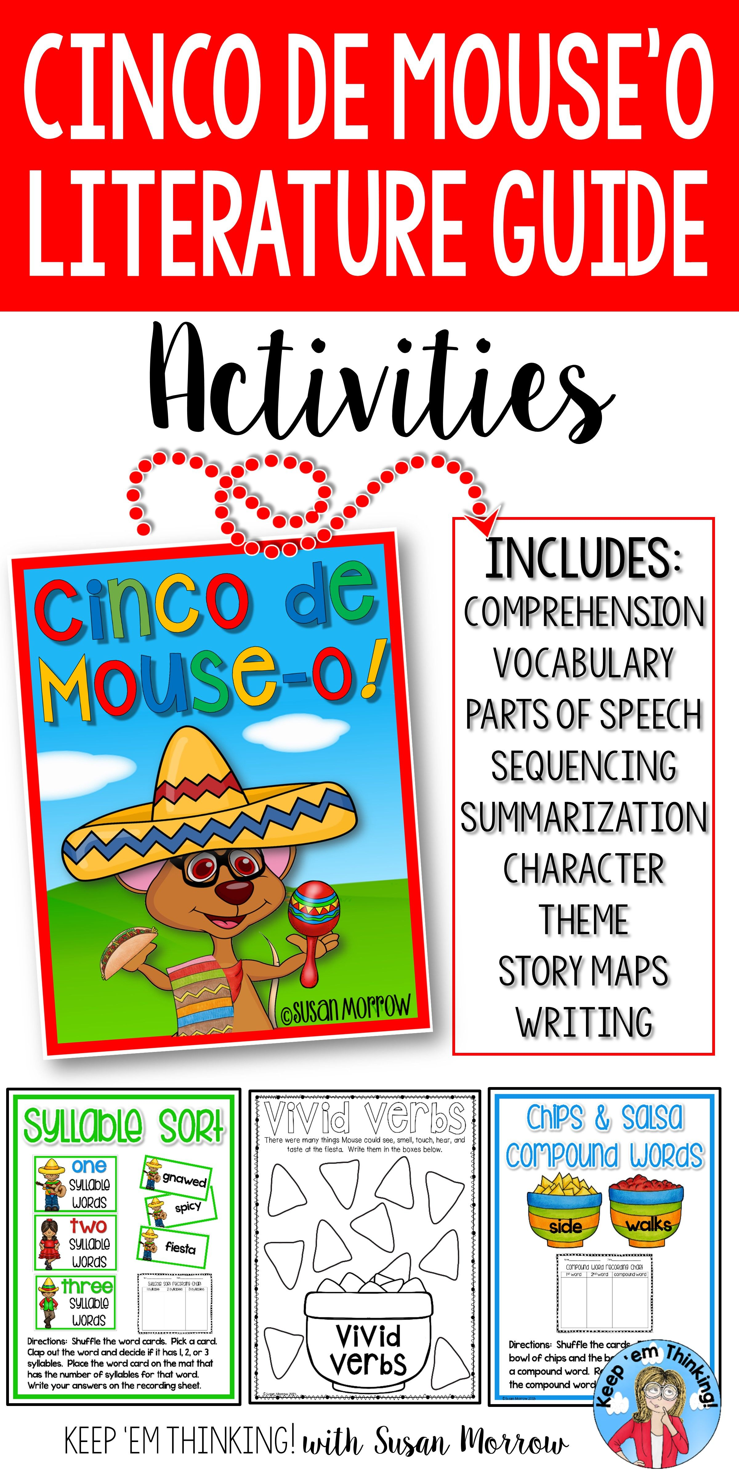 Cinco De Mouse O Literature Guide And Activities