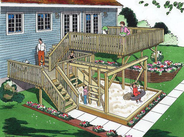 House Plans Home Plans And Floor Plans From Ultimate Plans Deck Plans Deck Decks Backyard