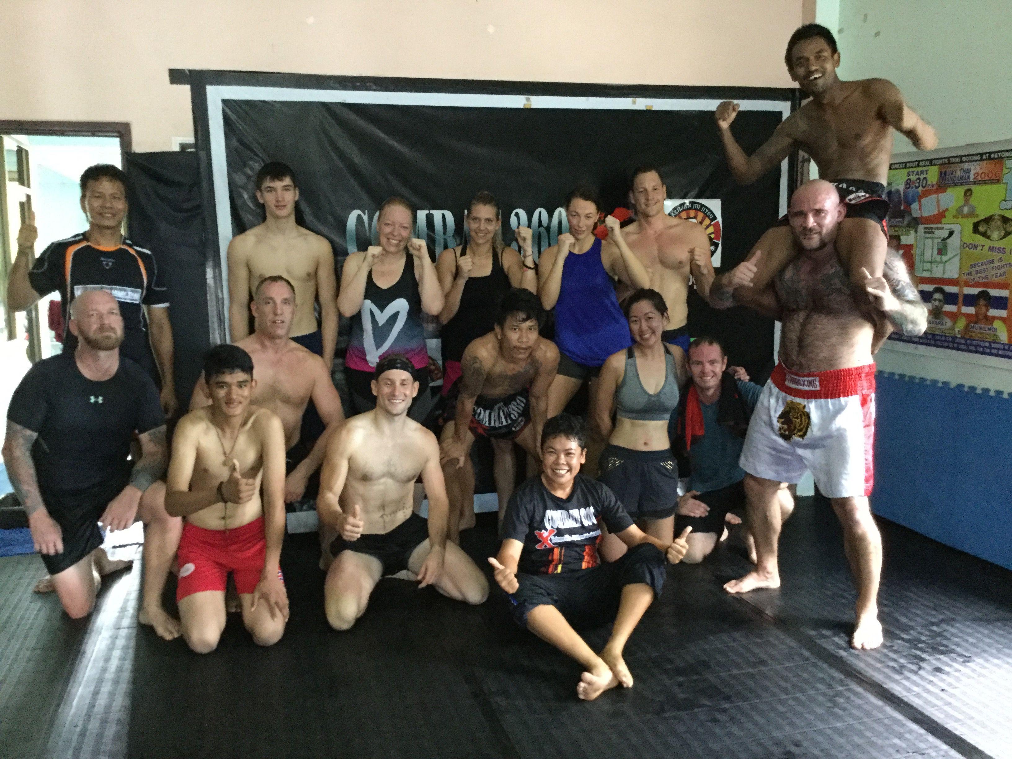 Morning Muay Thai Class In Khao Lak Thailand Mma Training Muay Thai Kickboxing