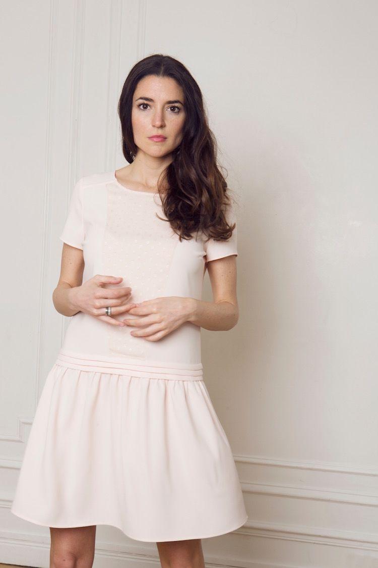 Robe magali rose pâle précommande fancy outfits pinterest