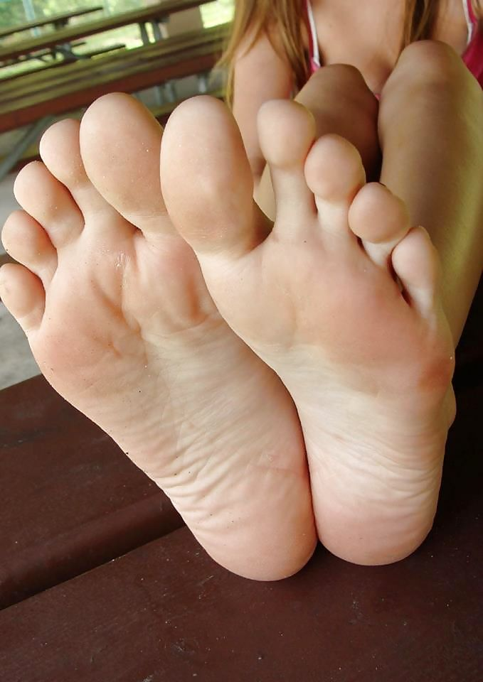 Consider, that ticklish bare feet soles tickled
