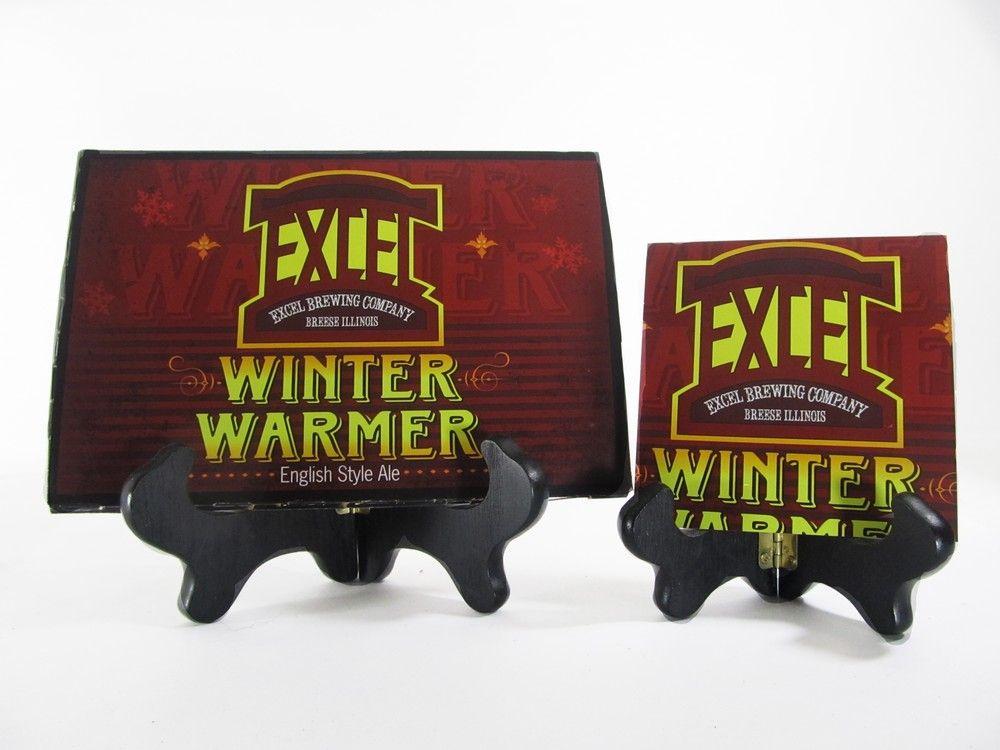 Winter Warmer Beer Coaster