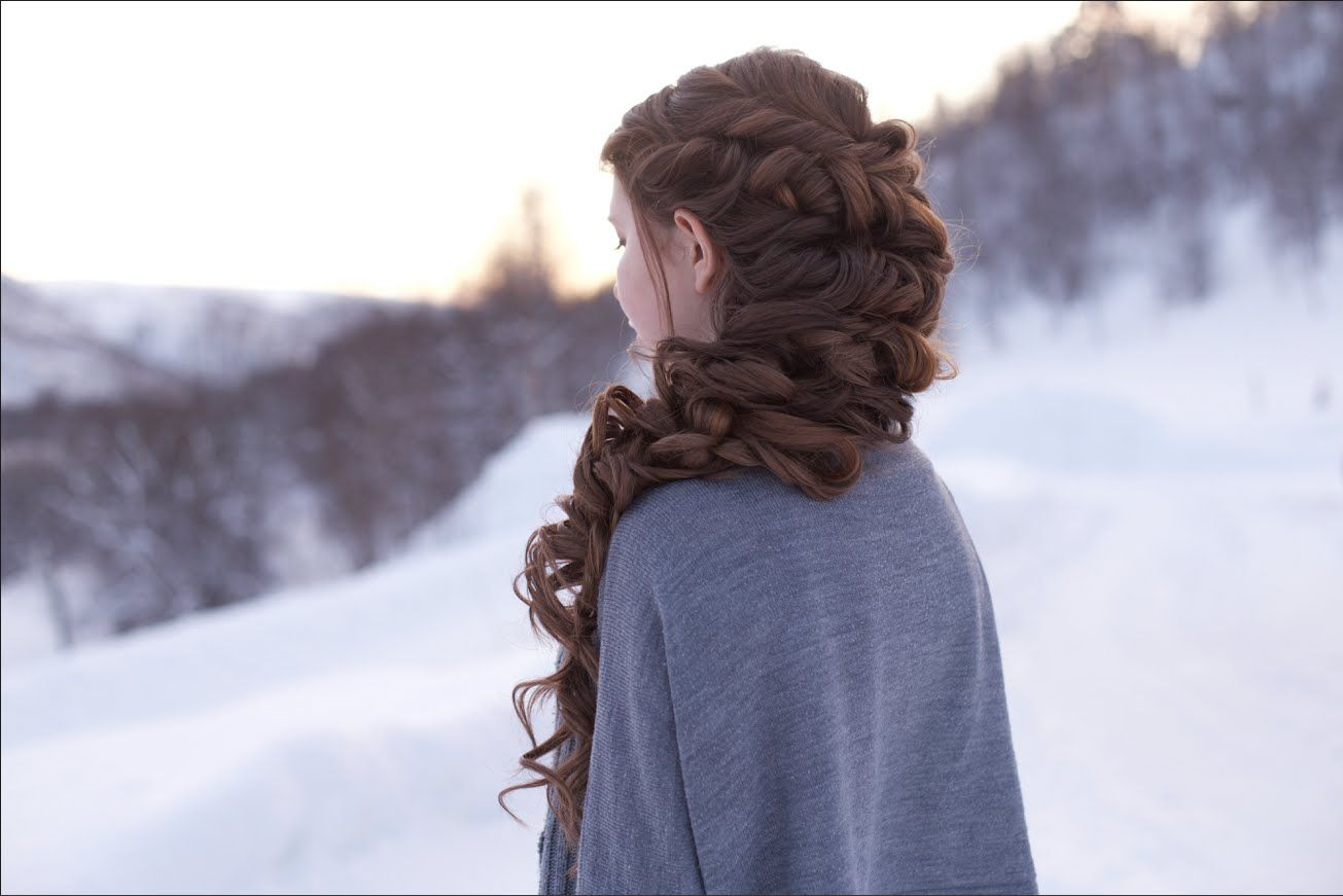 Messy romantic braid hair fashion and beauty tips pinterest