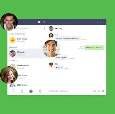 Messaging app LINE releases Chrome browser extension (for
