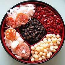 Chinese Candy Box Is A Traditional Box Used During Chinese New Year For Storing Candy And Other Edible Goods The Box Usually Has A Lid Some Are More Fancy And