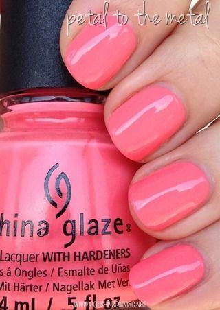 "China Glaze - ""Petal to the Metal"""