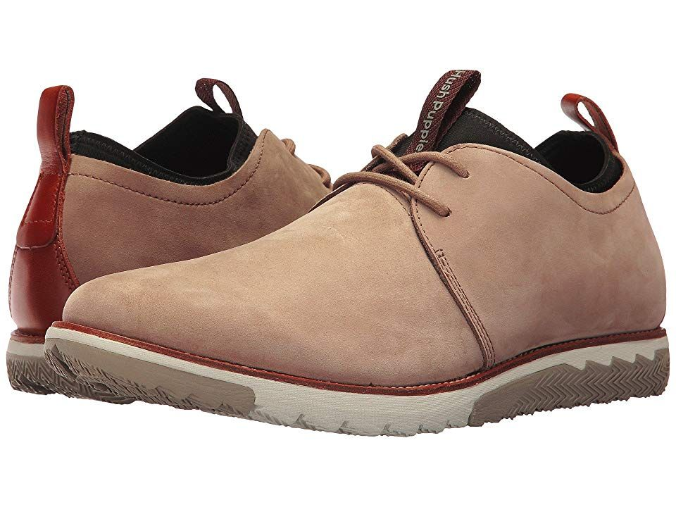 Hush Puppies Performance Expert Taupe Nubuck Men S Lace Up