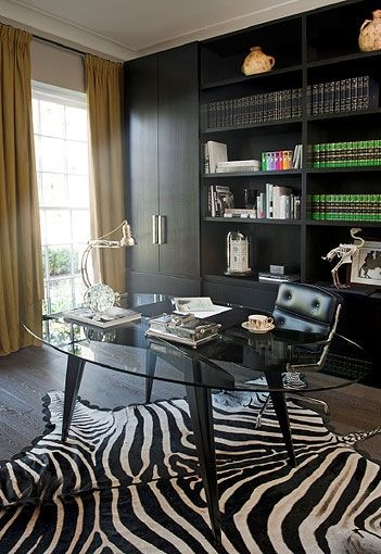 Gl Desk So You Can Still See The Rug By Kate Hume Manor England