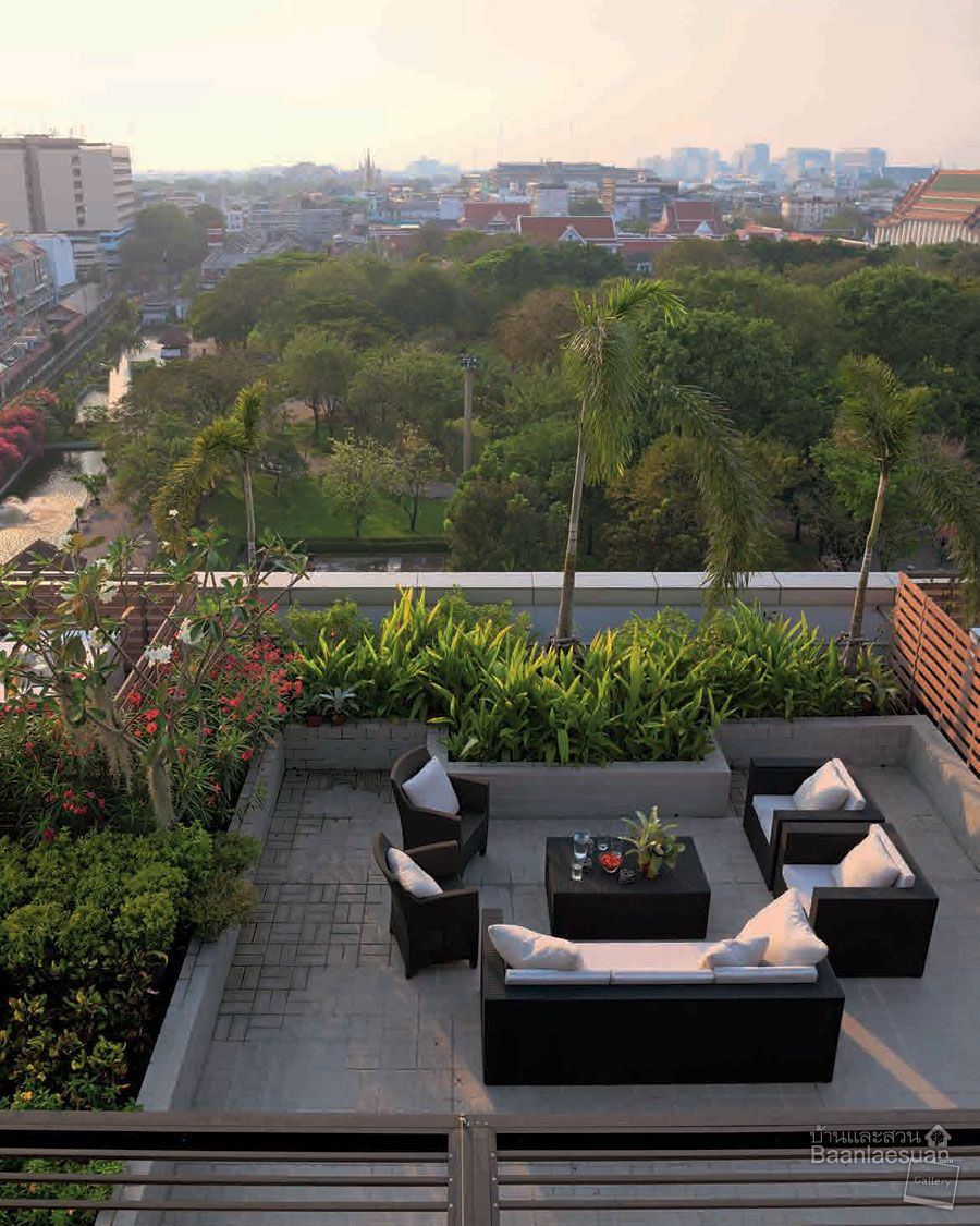 Rooftop Garden Designs For Small Spaces: Roof Terrace Design, Rooftop