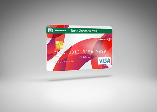 Credit Cards For Wbk Bank On Behance