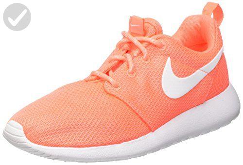 Nike Women's Roshe One Bright MangoWhite Running Shoe 7
